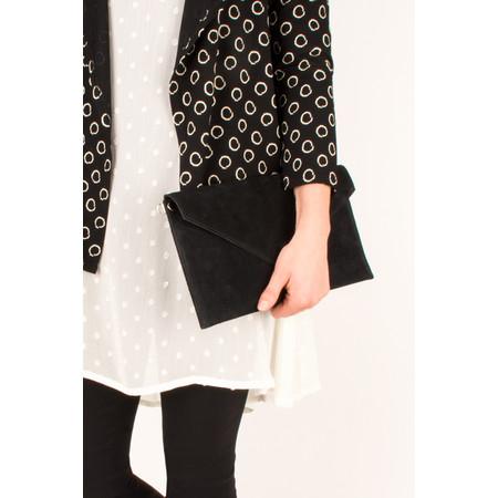 Pure White Paluzza Handbag - Black