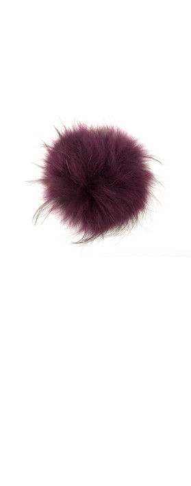 Bitz of Glitz Anna Beanie Bobble Purple