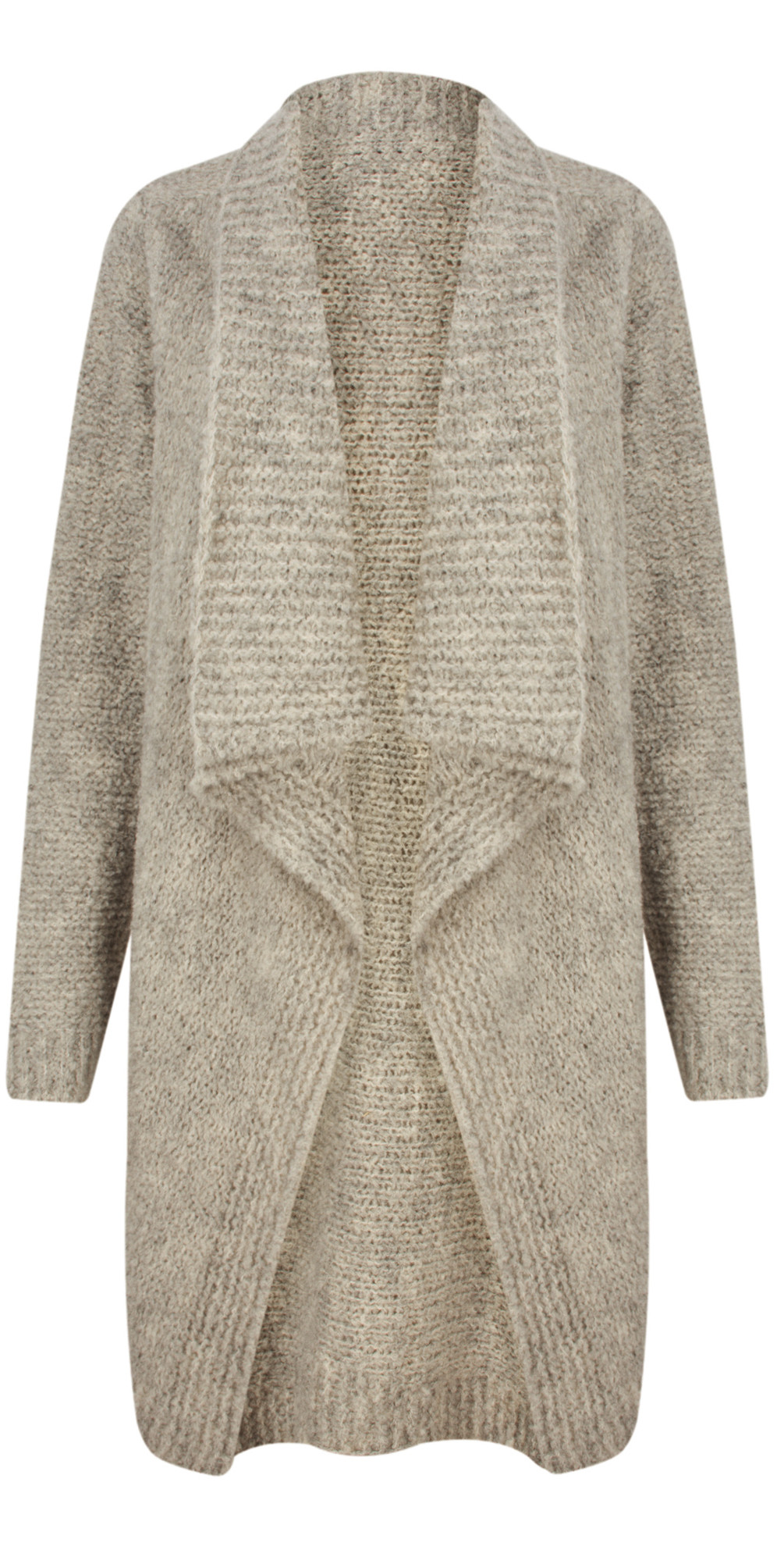 Carrie Boucle Knit Waterfall Cardi main image