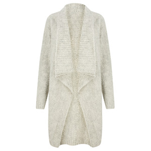 TOC  Carrie Boucle Knit Waterfall Cardi