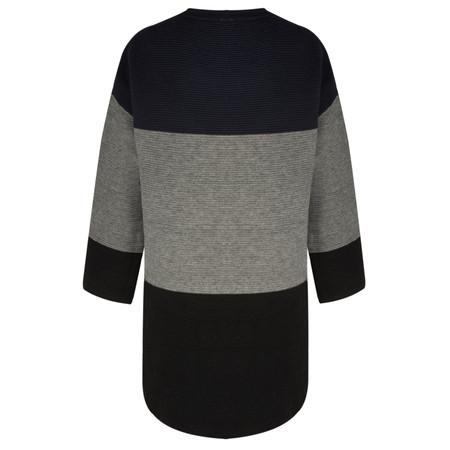 TOC  Dorte Colour Block Jumper Dress - Black