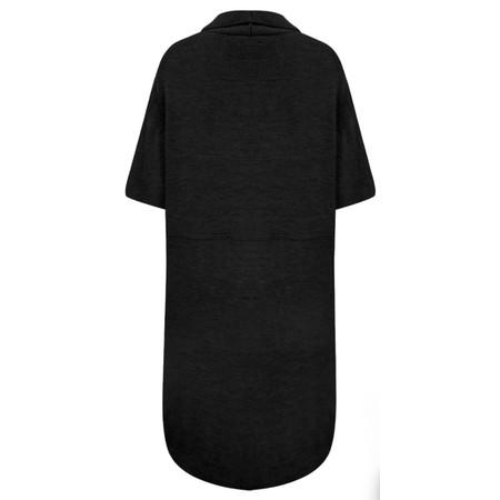 TOC  Caris Easyfit Sleeveless Cardi - Black