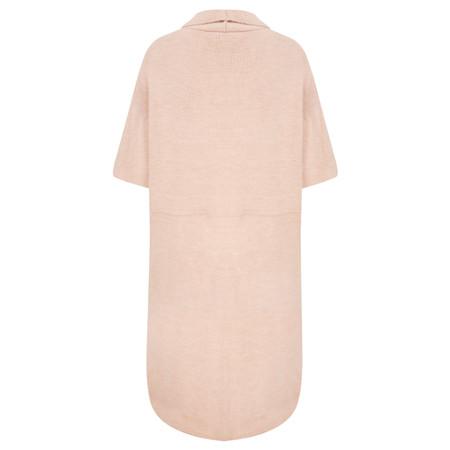 TOC  Caris Easyfit Sleeveless Cardi - Blush