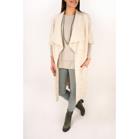 TOC  Caris Easyfit Sleeveless Cardi - Blonde