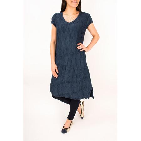 Grizas Crushed Silk Dress - Blue