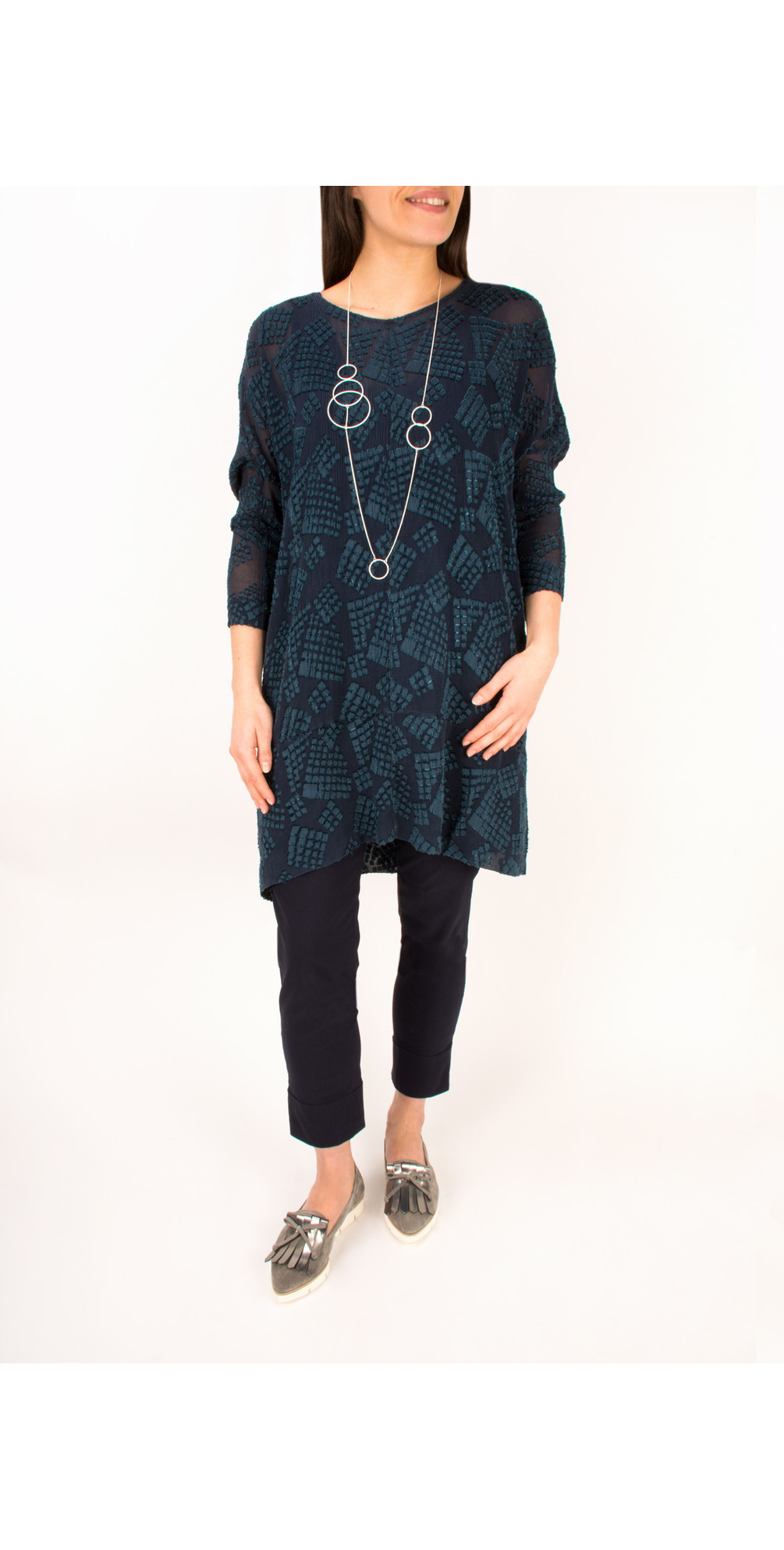 Silk Devore Tunic main image