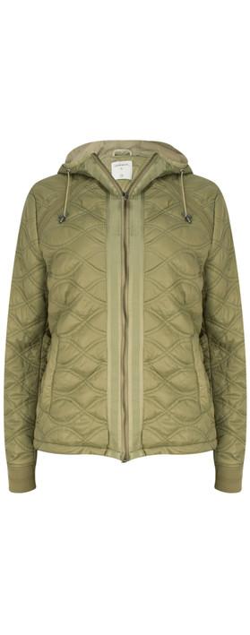Sandwich Clothing Patterned Jacket Sage Green