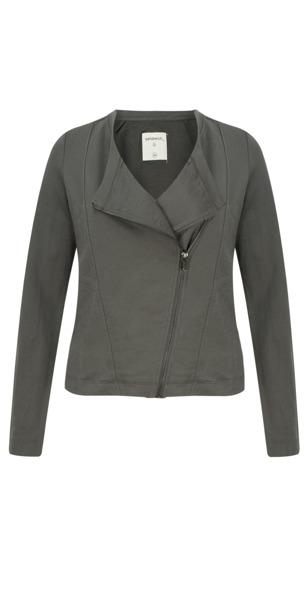 French Terry Cotton Jacket main image