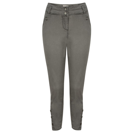 Sandwich Clothing Stretch Twill Slim Fit Trouser - Grey