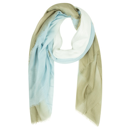 Sandwich Clothing Colour Fade Scarf - Green