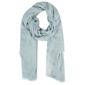 Sandwich Clothing Crinkle Effect Woven Scarf