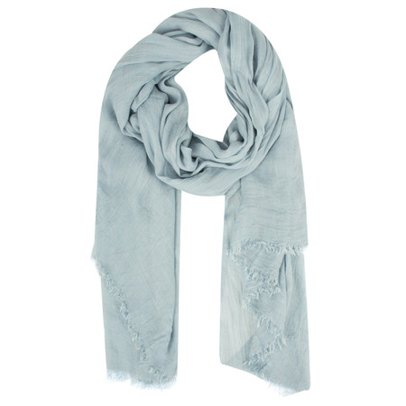 Sandwich Clothing Crinkle Effect Woven Scarf - Blue