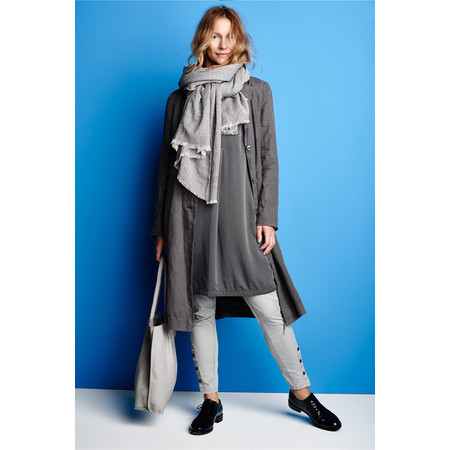 Sandwich Clothing Shirt Tunic Dress - Grey