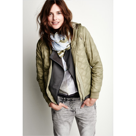 Sandwich Clothing Patterned Jacket - Green