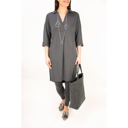 Sandwich Clothing Shirt Tunic Dress - Grey