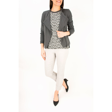 Sandwich Clothing French Terry Cotton Jacket - Grey