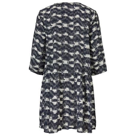 Masai Clothing Gabriella A-Shaped Tunic  - Blue