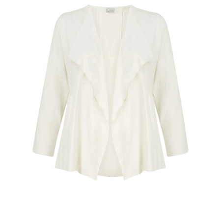 Masai Clothing Ilani Fitted Cardigan - Off-white