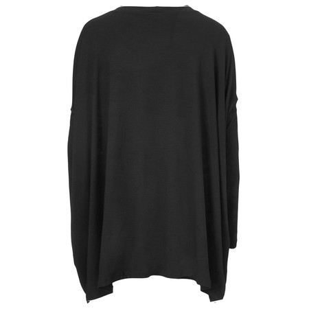 Masai Clothing Diona Oversize Top - Black