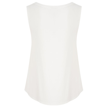Masai Clothing Elisa A Shape Sleeveless Top - Off-white