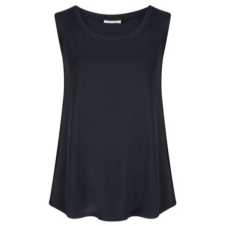 Masai Clothing Elisa A Shape Sleeveless Top - Blue
