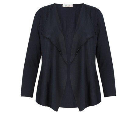 Masai Clothing Ilani Fitted Cardigan - Blue