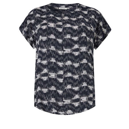 Masai Clothing Dera Short Sleeve Top - Blue