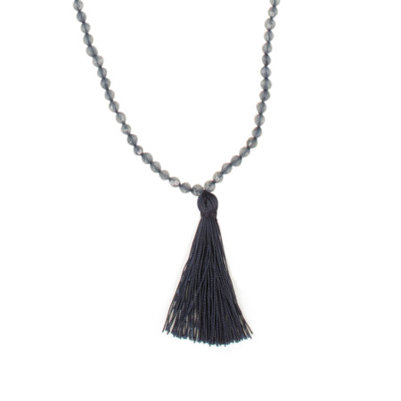 Masai Clothing Adelpha Necklace - Blue