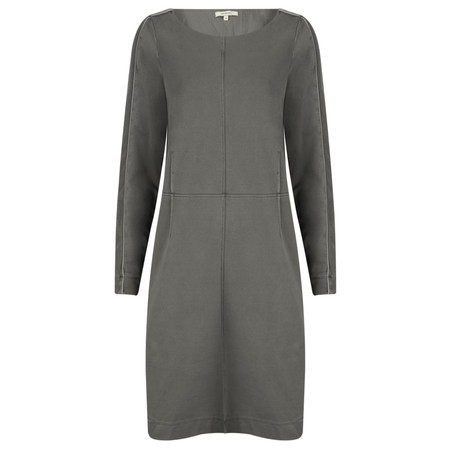 Sandwich Clothing French Terry Jersey Dress - Grey