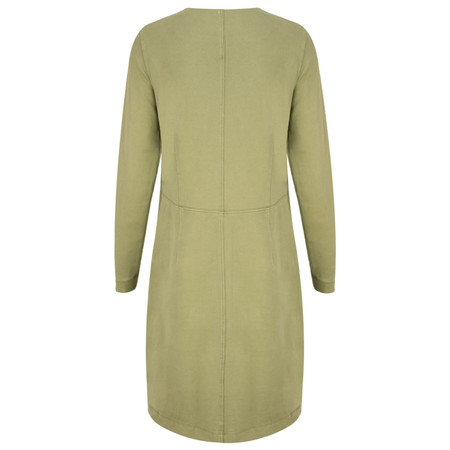 Sandwich Clothing French Terry Jersey Dress - Green