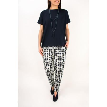 Masai Clothing Pamela Smock Trouser - Blue