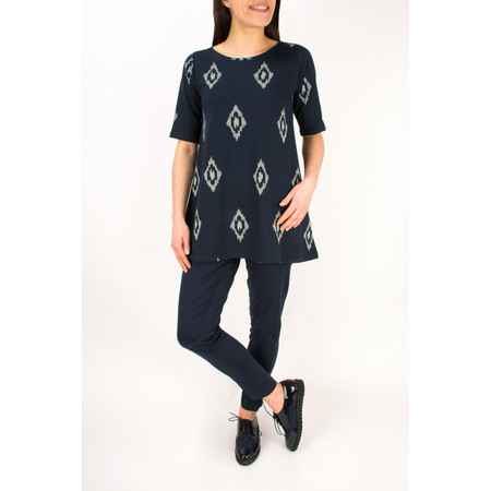 Masai Clothing Dilan A-Shaped Top - Blue