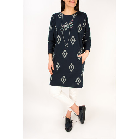 Masai Clothing Oversized Gertie Tunic  - Blue