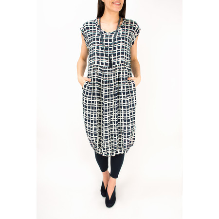 Masai Clothing Obella Fitted Dress - Blue