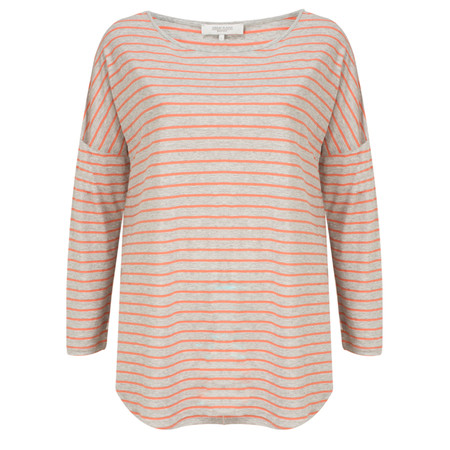 Great Plains Carlos Stripe Long Sleeve Tee - Grey