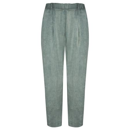 Grizas Oliato Linen EasyFit 7/8 Trousers - Blue