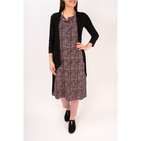 Masai Clothing Ibone Long Fitted Jersey Cardi - Black