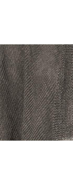 Grizas Oliato Linen Knit Waterfall Cardi 967 Mousey