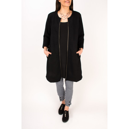 Masai Clothing Ildi A-Shaped Jacket  - Black