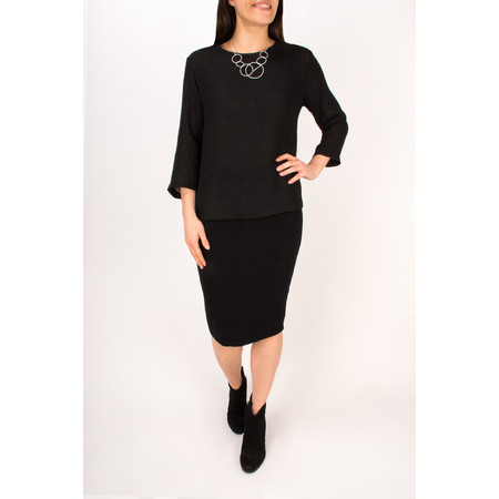 Masai Clothing Darnell Fitted Top - Black