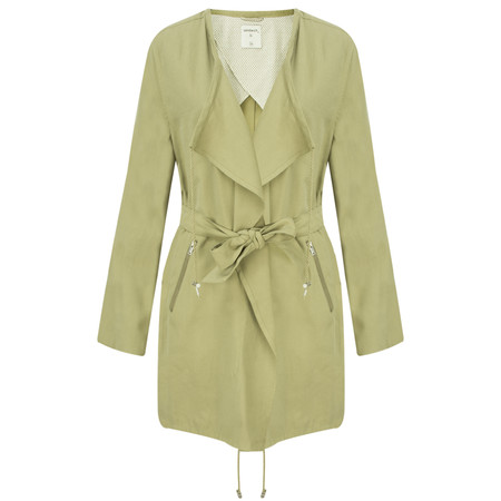 Sandwich Clothing Longline Waterfall Jacket - Green