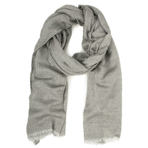 Sandwich Clothing Woven Wool Mix Scarf