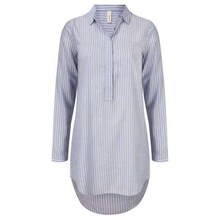 Soyaconcept Striped Sabbie Shirt - Blue