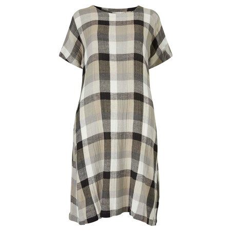 Masai Clothing Olivia Oversize Dress - Brown