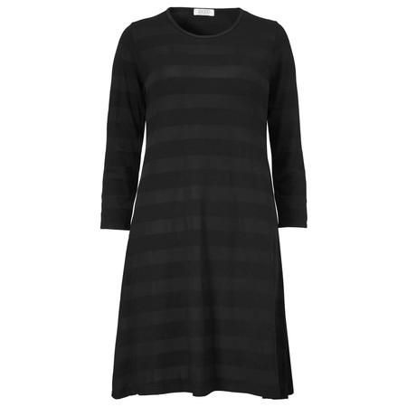 Masai Clothing Georgia Stripe Tunic - Black
