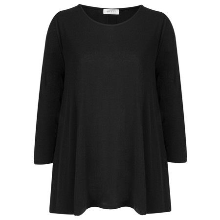 Masai Clothing Dilani top  - Black