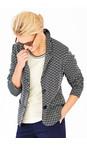Adini Navy Brompton Weave Bury Jacket