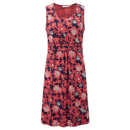 Adini Adelaide Print Leabrook Dress - Poppy