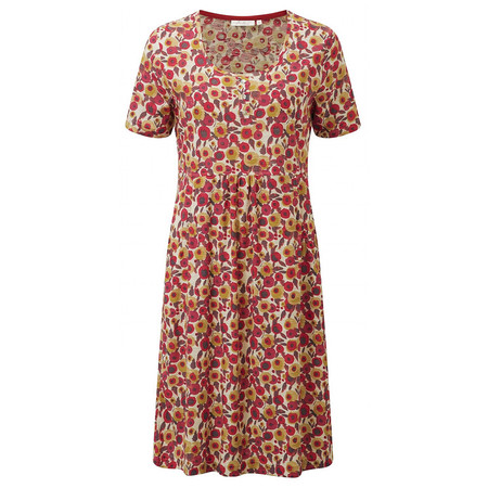 Adini Clemence Print Elodie Dress - Poppy