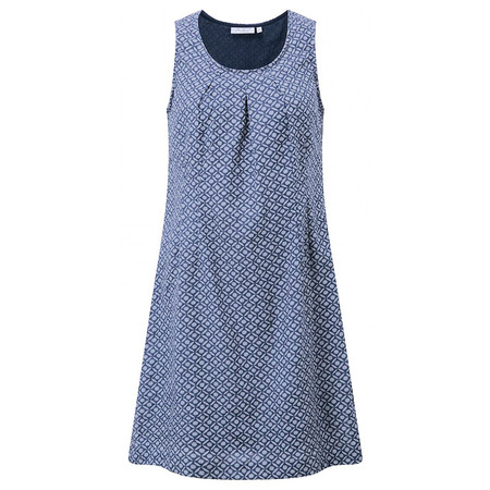 Adini Dana Print Dana Dress - Blue